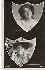 POSTCARD  ACTRESSES   Zena  Dare  &  Hilda  Hammerton