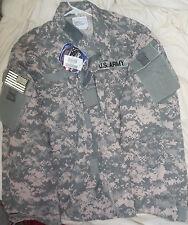 NWT GI Genuine Issue Army ACU Uniform Top Shirt, Size  Large Short Fire Retardnt
