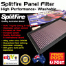 Splitfire High Performance Washable Air Filter Panel Fits Toyota Camry 2002-2012