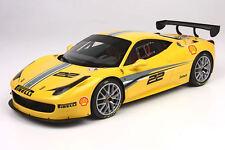 BBR P1890 - Ferrari 458 Challenge Evoluzione jaune 2011  1/18