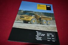 Caterpillar 725 Articulated Dump Truck Dealer's Brochure DCPA8