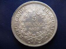 FRANCIA FRANCE III REPUBLICA 5 FRANCS 1873 A HERCULES EBC+/SC-  BONITA