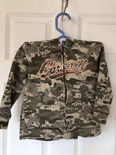Carhartt Boys Camo Hooded Zip Up Sweatshirt Size 4t