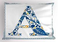 Portuguese Letters Pillow Sham Decorative Pillowcase 3 Sizes Bedroom Decoration