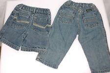 Lot of 2 Wrangler Jean Pants and Shorts 18 Month