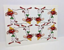Slowpoke Rodriguez x 8 Vintage Style DECAL, Vinyl STICKER, rat rod, racing