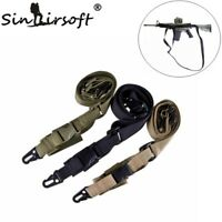 Tactical 3 Point Quick Detach Sling Strap Three Point Rifle Adjustable Gun Sling
