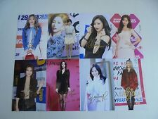 Girls Generation Yoona All Member Signed 8 Photos 4x6 Autographed USA SELLER 10