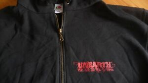 UNEARTH Logo Zip Hoodie.Size Medium.Rock,Metalcore,Linkin Park,Metallica,Slayer