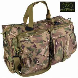 Mens Army Combat Military Fold Out Shoulder Holdall Travel Kit Bag Hold All