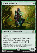 MTG SYLVAN ADVOCATE GERMAN EXC - DIFENSORE SILVANO - OGW - MAGIC