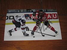 ADAM PELECH AUTOGRAPHED CANADA 4X6 PHOTO # 4