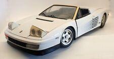 Pocher Diecast 1/8 Scale Diecast Kit CW32 - Ferrari Testarossa - White