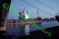 Tankers Ships at Port of Milwaukee Pier 1959 Kodak 35mm Slide