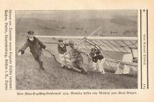 Die Rhön-Segelflüge anno 1924 Wettbewerb Segelflug - Hist. Bericht 1925 / 8 Abb.