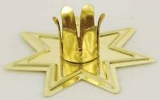 """Gold Fairy Star Chime Candle Holder for 4"""" x 1/2"""" Diameter Candles (Spell)"""