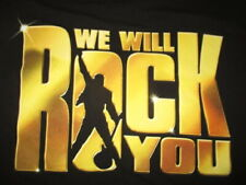 2013 We Will Rock You (Lg) T-Shirt Queen Theatrical Productions