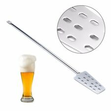 304 Stainless Steel 15 Holes Mash Tun Mixing Stirrer Paddle For Home Brew Making