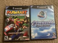 Mario Kart: Double Dash, Wave Race: Blue Storm CASES ONLY,  NO GAME, NO DISC