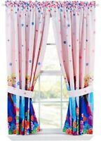 Disney Frozen Window Panels Curtain Set 82x63 Breeze Into Spring Elsa Anna
