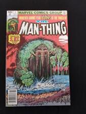 Man-Thing #1 Origin Retold 1979 Marvel
