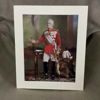 1900 Antico Militare Ritratto Stampa Frederick Roberts Royal Artillery Regiment