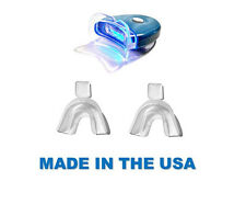 NEW LED Blue Plasma Hands-free Teeth Whitening Light WITH 2 THERMOFORMING TRAYS