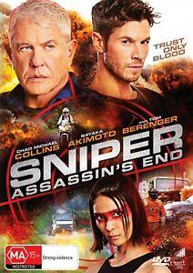 BRAND NEW Sniper : Assassin's End (DVD, 2020) R4 Movie Tom Berenger