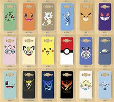 Samsung Galaxy J1, J3, J5, 2016, 2017, Pokemon Go Custom Made Clear Phone Case