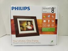 """Philips SPF3482/G7 Home Essentials Digital Photo Frame 8"""" LCD Panel"""