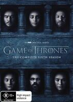 Game Of Thrones SEASON 6 : NEW DVD