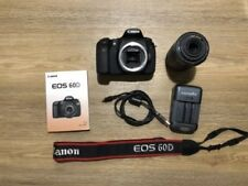 Canon EOS 60D 18.0MP Digital SLR Camera - Black (Kit w/ EF-S IS 55-250mm f4-5.6)
