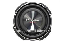 "Pioneer TS-SW2502S4 300 Watts RMS 10 "" Simple 4 Ohm Peu Support Camion Caisson"