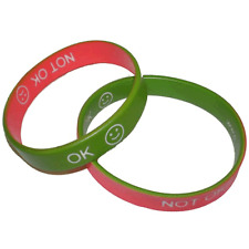 AUTISTIC REVERSIBLE WRIST MOOD BAND AMAZING AUTISM COMMUNICATE EMOTION AWARENESS