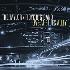 The Taylor /Fidyk Big Band cd LIVE AT BLUES ALLEY MINT Fidik