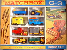 "Matchbox 1-75 Serie Giftset G-3 ""Farm Set"" 1968"