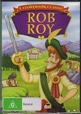ROB ROY - ANIMATION - A STORYBOOK CLASSIC - DVD - NEW