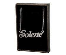 """Name Necklace """"SOLENE"""" –18K Gold Plated 