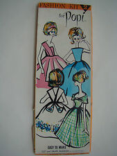 American Character Popi Pop Apart No-Sew Doll Casual Fashion Kit 2 Box Uncut FAB