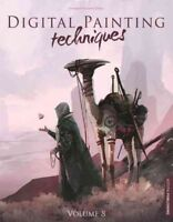 Digital Painting Techniques, Paperback by 3D Total Publishing (COR); Moss, An...
