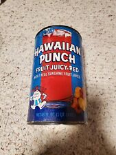 Vintage Rare '70s Hawaiian Punch 46oz Fruit Juice Can Advertising Cereal Box