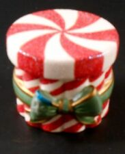 Avon Holiday Poured Candle Peppermint Box 2004 Box Only Candle not Included
