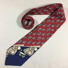J.T. Beckett Mens 100% Silk Baseball Themed Neck Tie Pitchers Catcher Batters