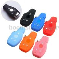 SILICONE GEL KEY REMOTE HOLDER CASE COVER FOB FOR Mercedes-Benz