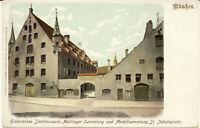 AK München, Jakobspl., Stadtmuseum, Maillinger Sammlung, gel.1940 in Budapest