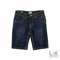 Bermuda di Jeans in Cotone Ragazzo Denim Sarabanda M638