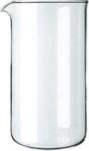Bodum Spare Coffee Press Replacement Glass Beaker - 1.0 Litres - 8 Cup Capacity