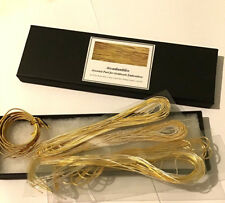 GOLDWORK EMBROIDERY PURL BUMPER SELECTION BOX GOLD AND SILVER 15 METRE ASSORTED
