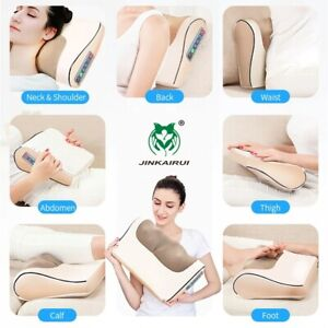 Infrared Heating Neck Shoulder Back Body Electric Massage Pillow Shiatsu Device