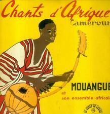 """7"""" Mouangué & son ensemble africain/CHANTS D 'Afrique-Cameroun"""